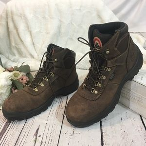 Red wing Irish setters hunt work steel ELY boots